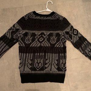 J Crew 100% wool pattern sweater